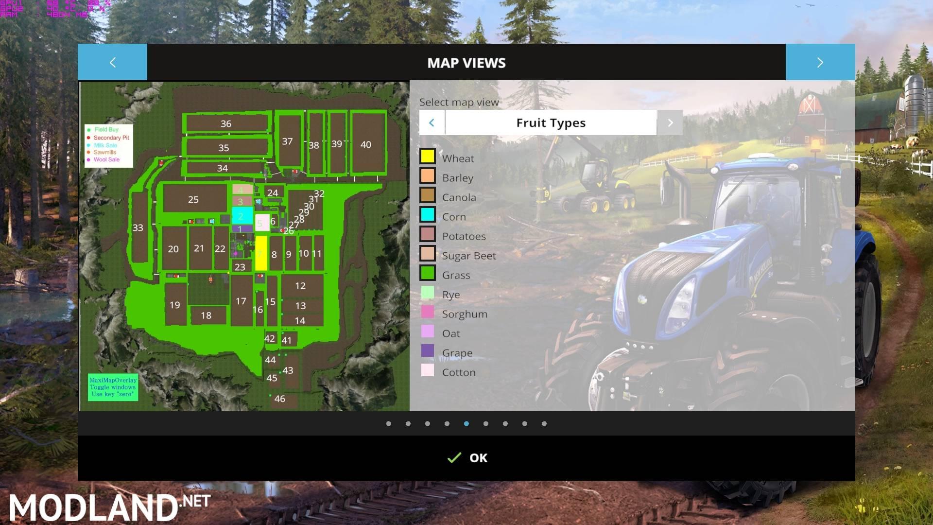 Canadian Map Farming Simulator 2015%0A Canadian Prairies Map     SoilMod