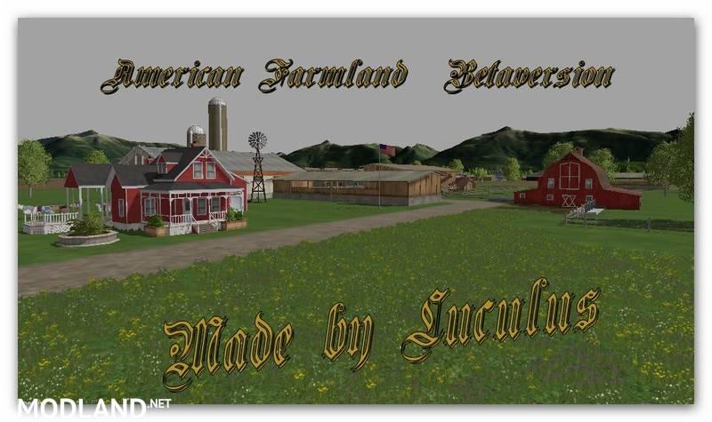 American Farmland Map v 0 1 mod for Farming Simulator 2015 / 15 | FS