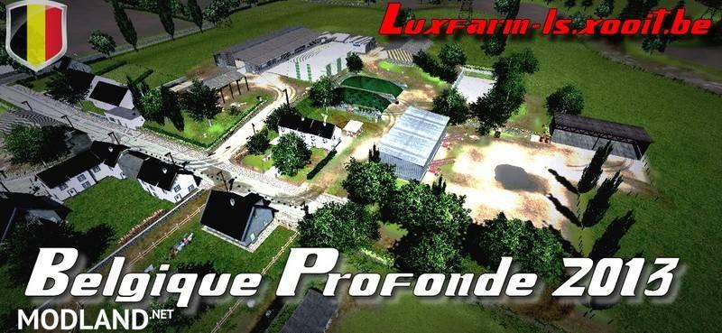 maps farming simulator 2015 belgique profonde v2