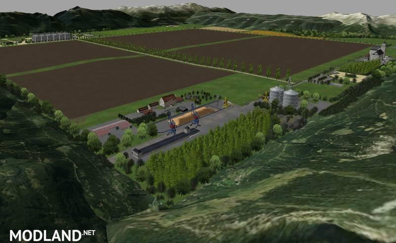 Big European Map v 10 mod for Farming Simulator 2015 15 FS