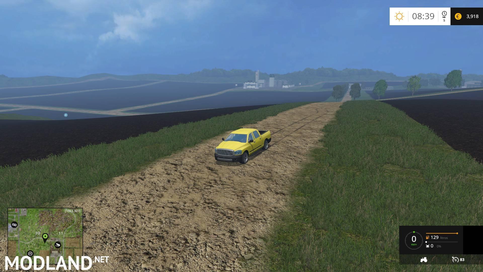 Brazilian Map BETA mod for Farming Simulator 2015 15 FS LS