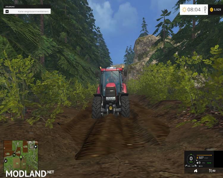 John Deere Sprayer >> Forest Map v 1.0 mod for Farming Simulator 2015 / 15 | FS, LS 2015 mod