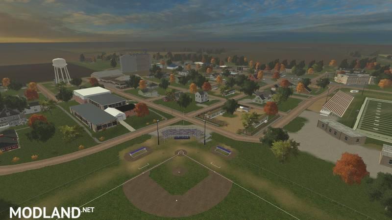 FS County Line V Mod For Farming Simulator FS - Fs15 us maps