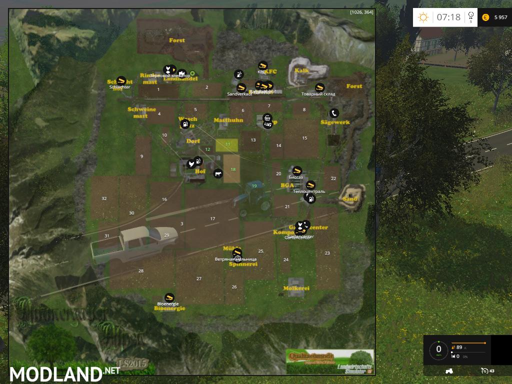 Oberammergau Alps Forest Edition V Mod For Farming Simulator - Norway map ls 2013