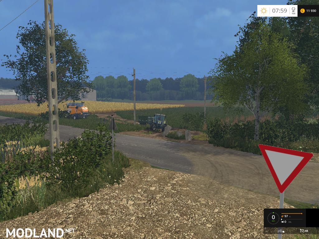 Russian Glubinka Map v 2 0 mod for Farming Simulator 2015 / 15 | FS