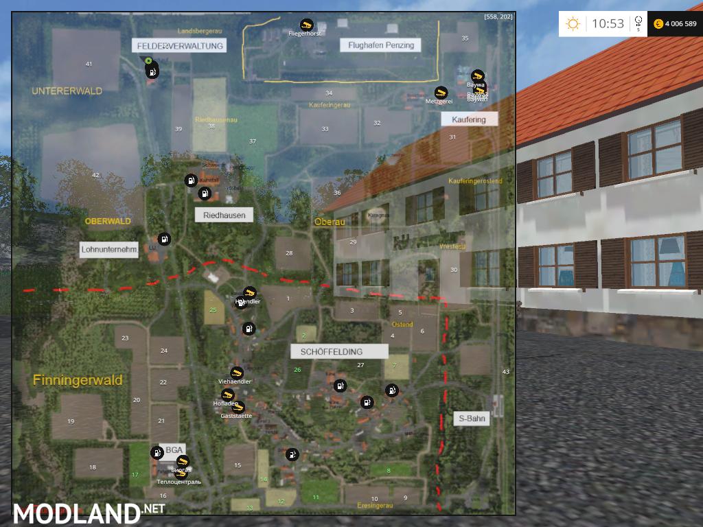 OGF Bayern v 1.1 GMK & Soilmod mod for Farming Simulator 2015 / 15   FS, LS 2015 mod
