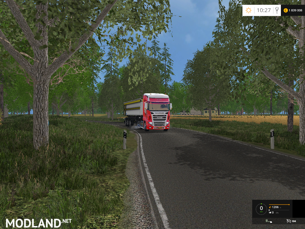 North Germany Map V Mod For Farming Simulator FS - Germany road map 2015
