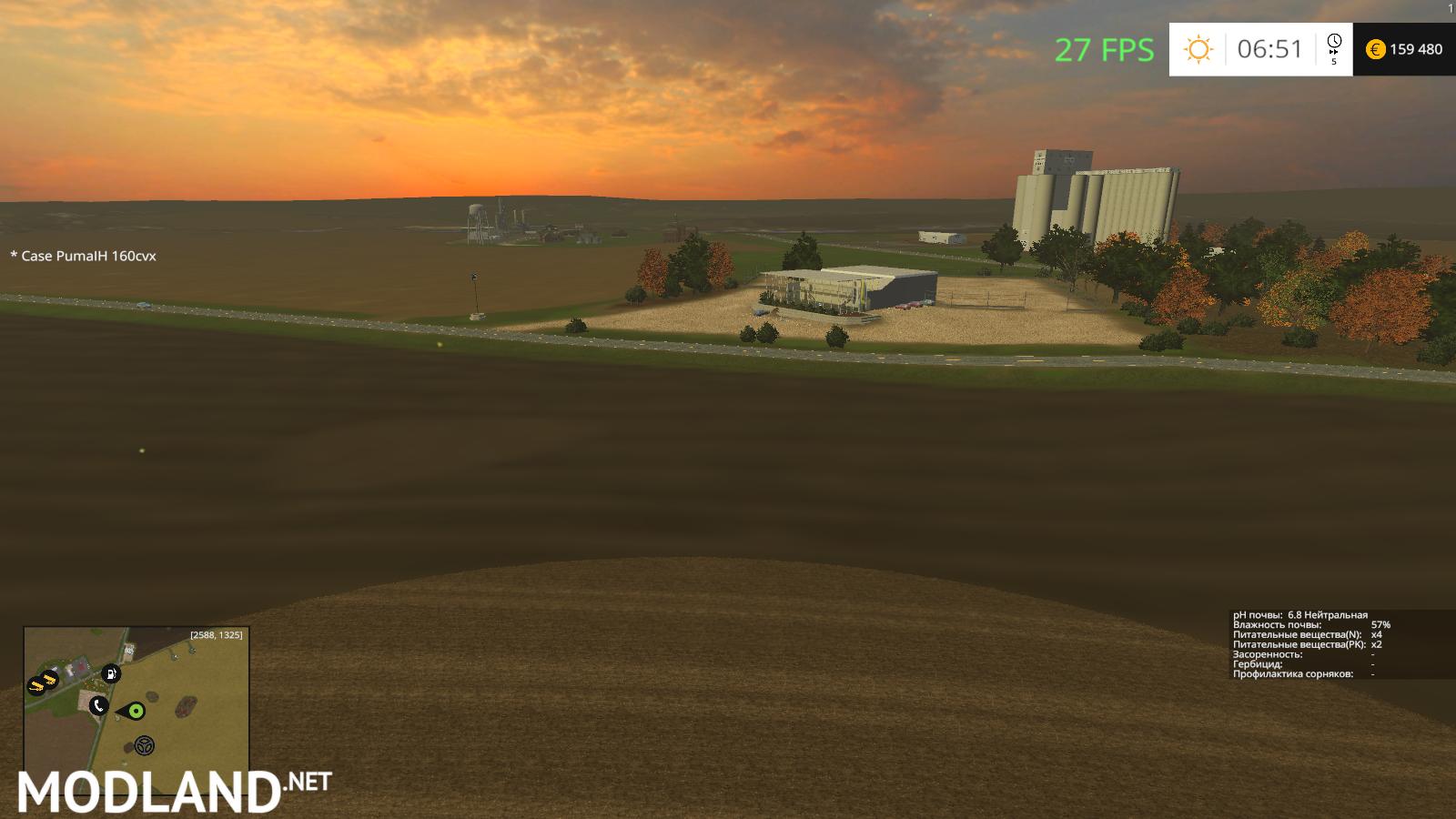 FS15 Windchaser Map BETA Soil Mod