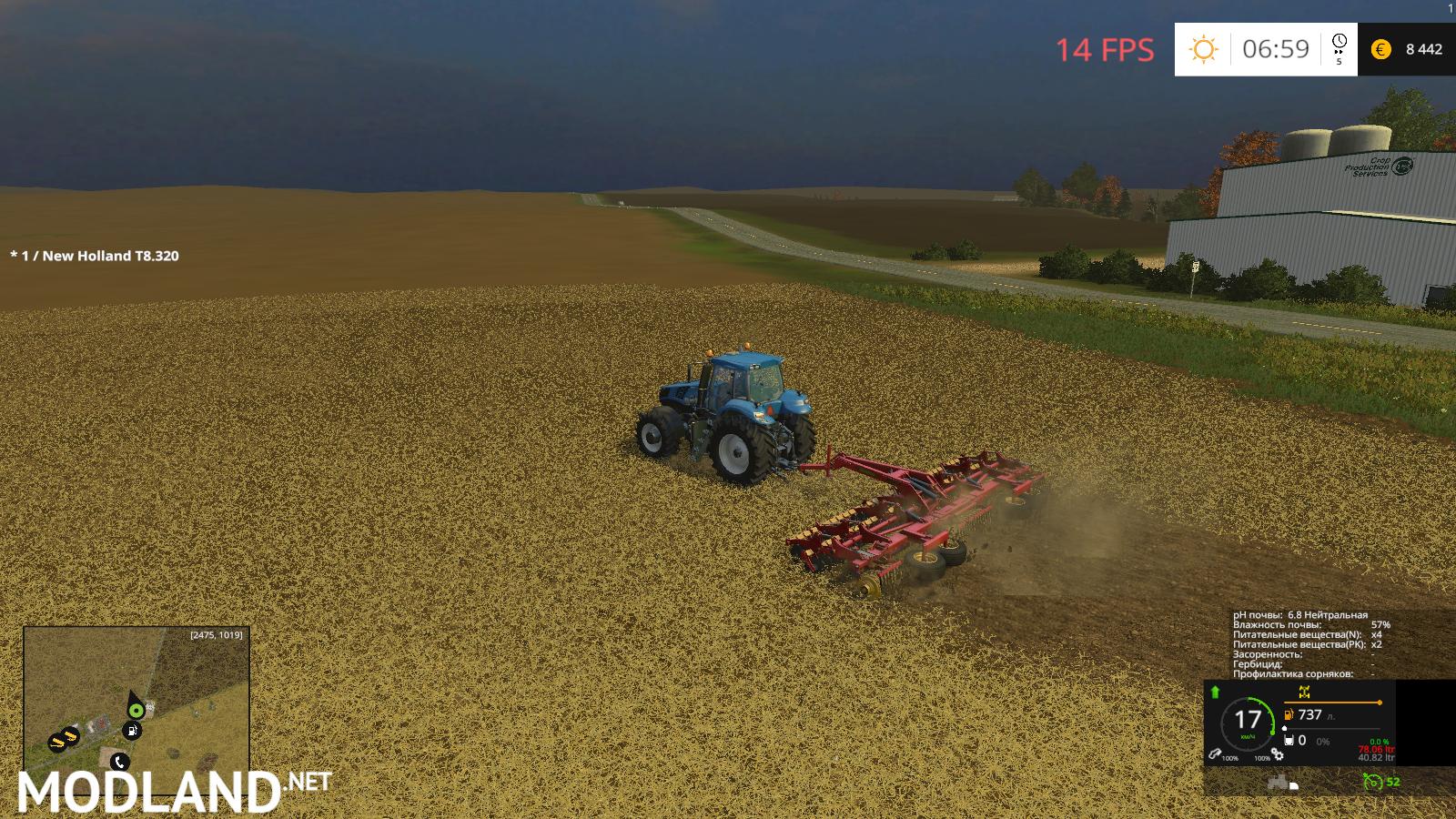 FS15 Windchaser Map BETA Soil Mod mod for Farming Simulator 2015