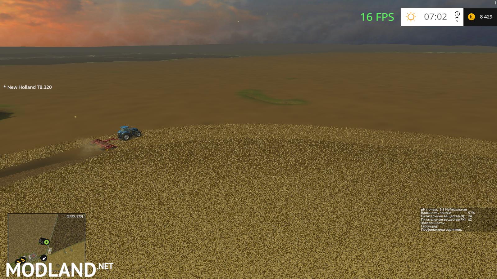 FS Windchaser Map BETA Soil Mod Mod For Farming Simulator - Fs15 us maps