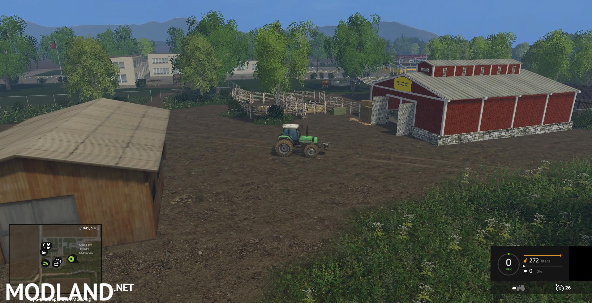 VALLEY EAST USA [CONTEST 2015] MOD mod for Farming Simulator