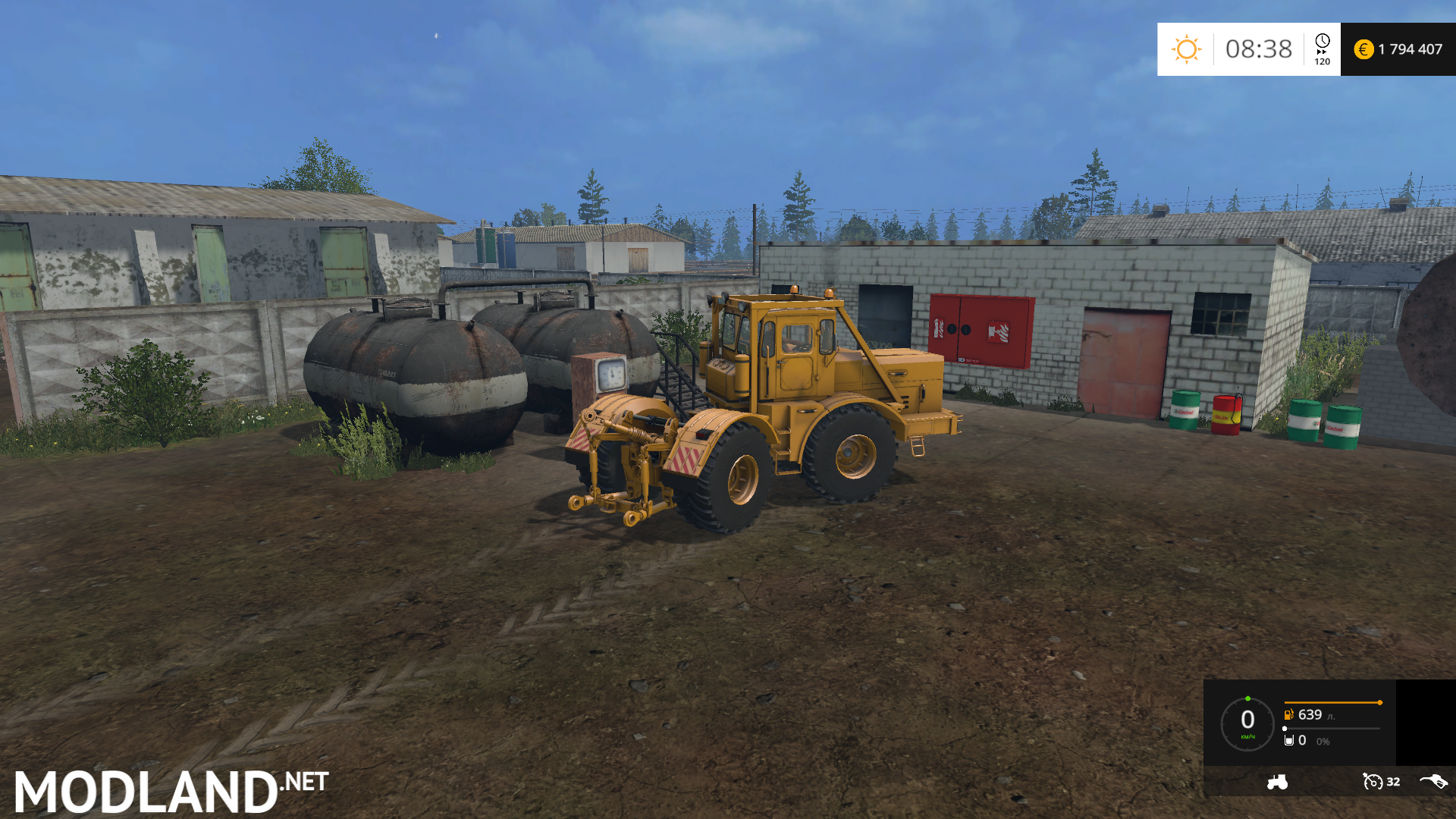 The average strip to russia map mod for farming simulator for The russian mod