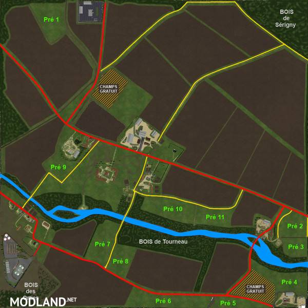 Grande Brenne Map V 20 With SoilMod Mod For Farming