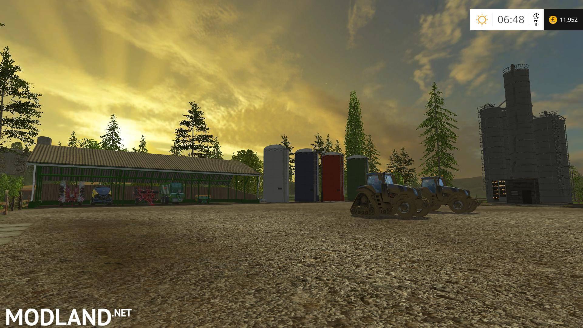 Lakeside USA Map V By Stevie Mod For Farming Simulator - Fs15 us maps