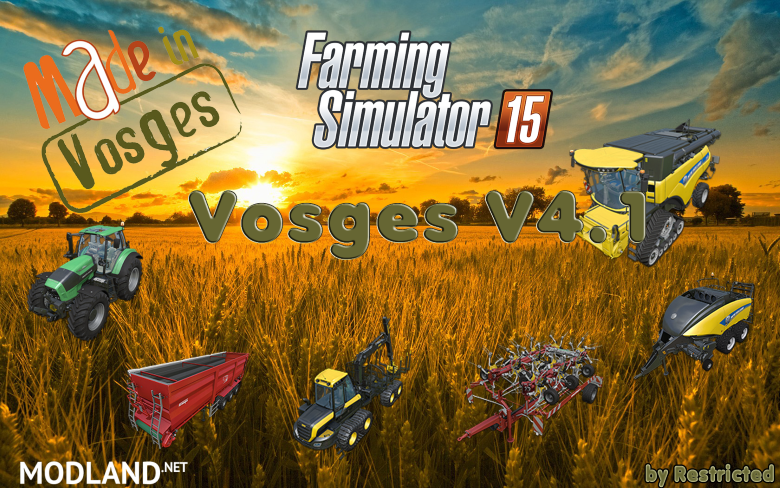 Vosges Map Pack