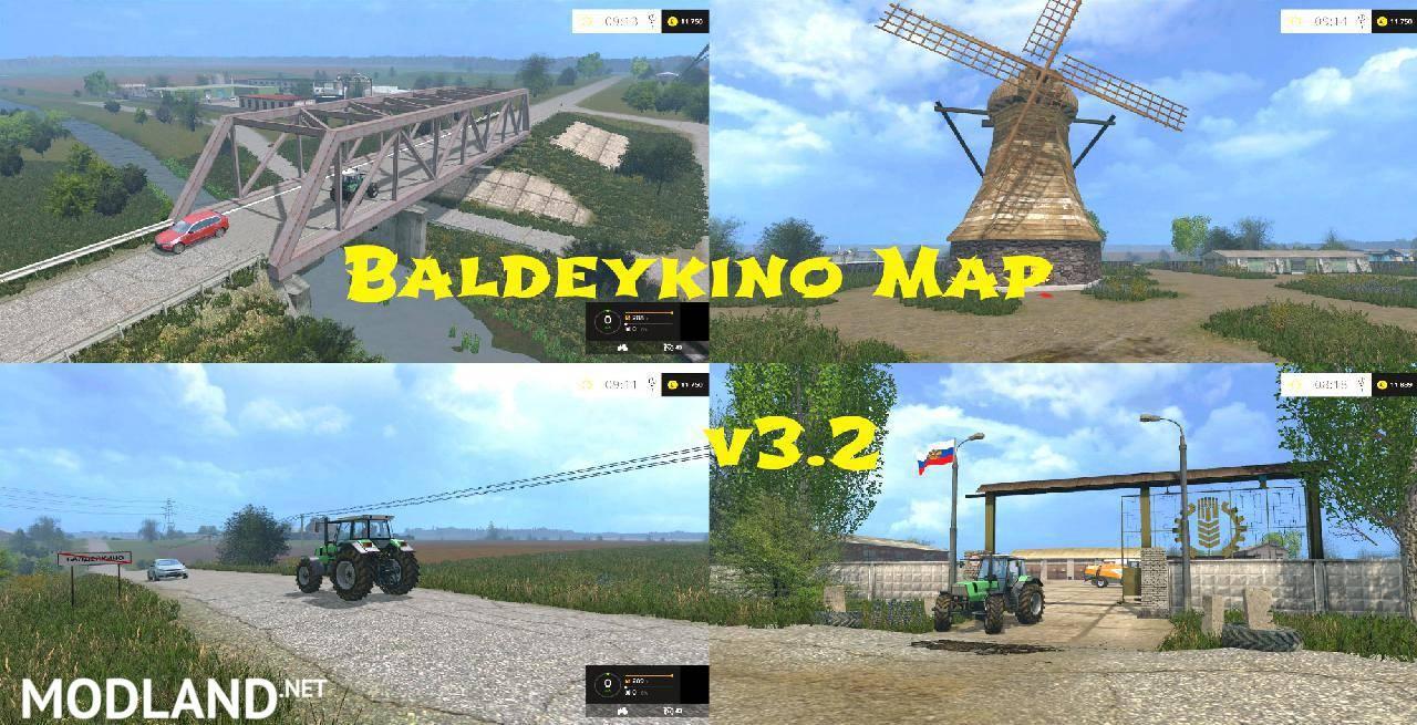 Baldeykino Map