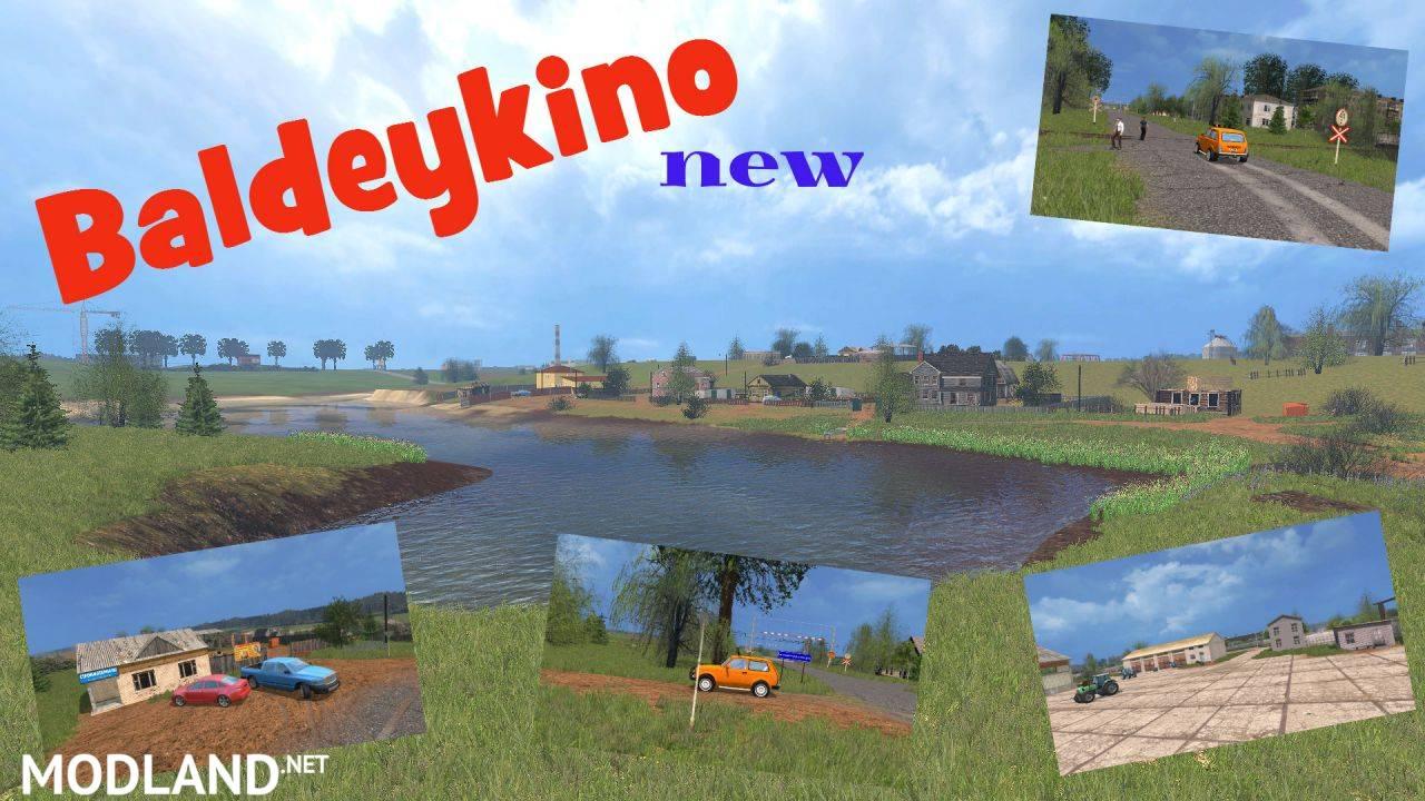 Baldeykino Map New