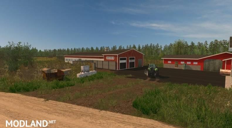 Finnish Map - Small Farm
