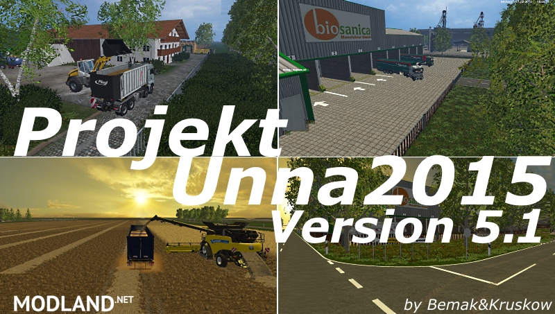Projekt Kreis Unna2015 Map Version 5.1