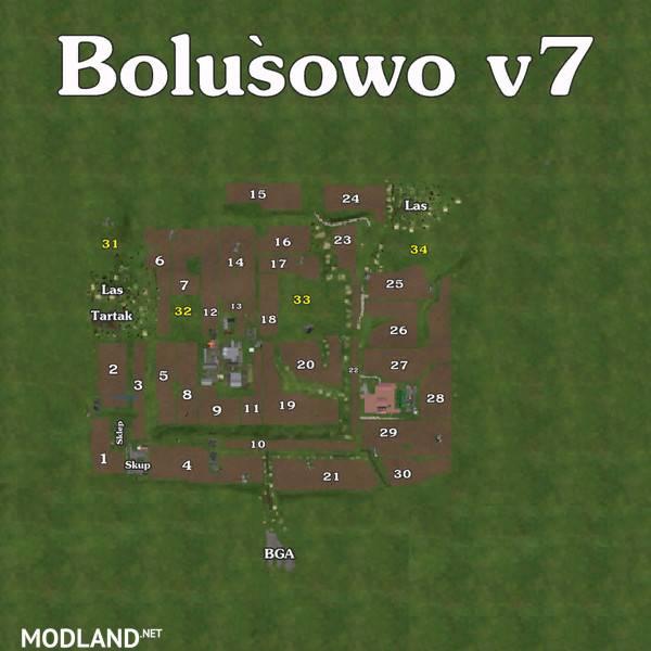 Bolusiowo Map