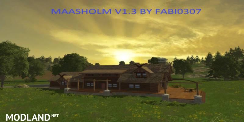 Maasholm Map