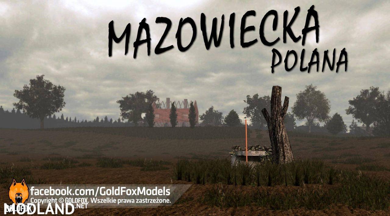 Mazowiecka Polana Map
