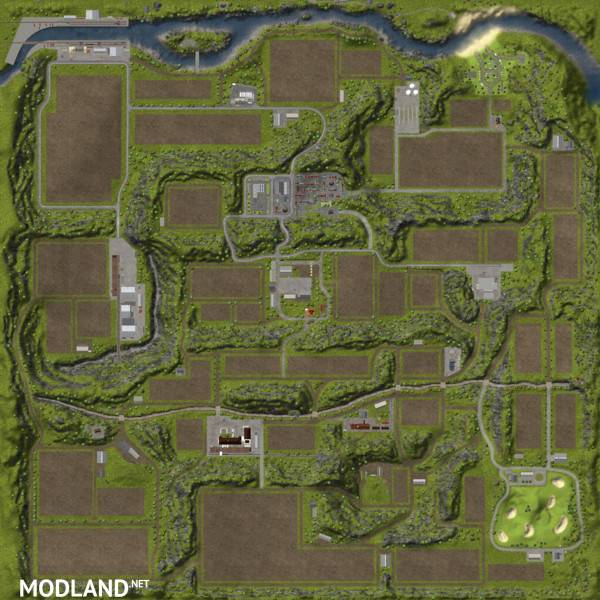Oldschool Farm Map v 1.0 without mods