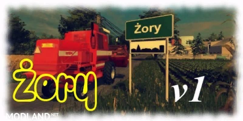Zory Polish Map