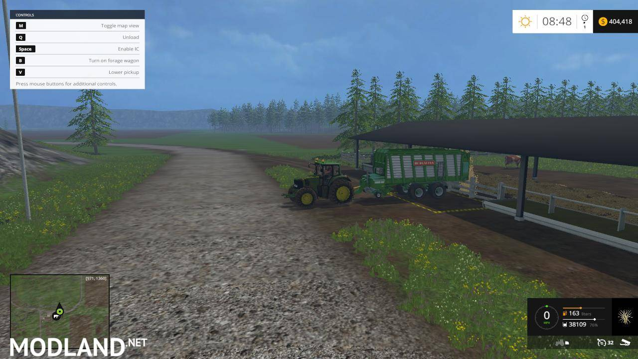 Midwest Family Farms Map v 21 mod for Farming Simulator 2015 15