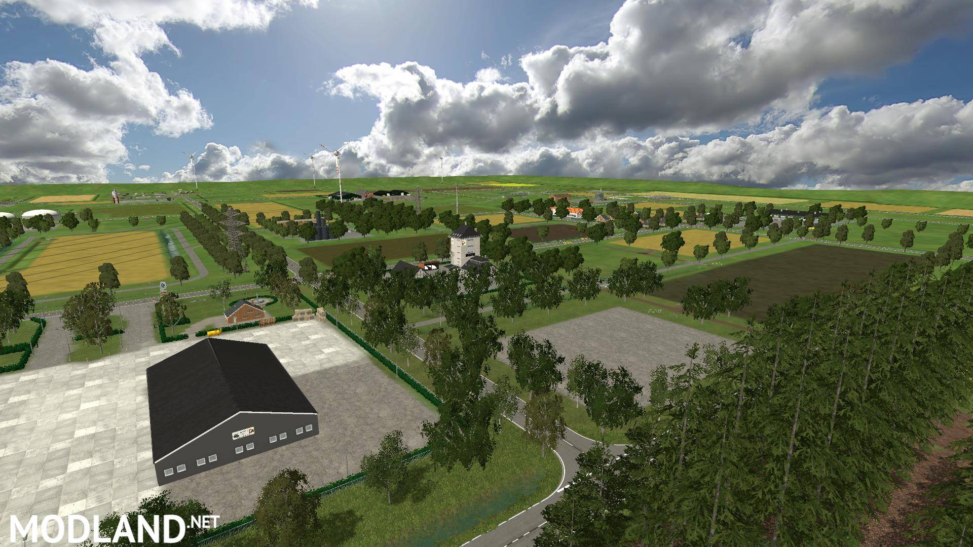 Nederland Map V2.1 Mod For Farming Simulator 2015 / 15