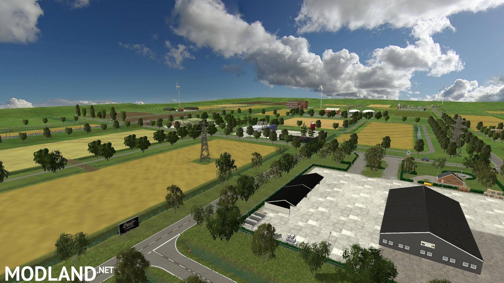 Map v2 1 mod for farming simulator 2015 15 fs ls 2015 mod