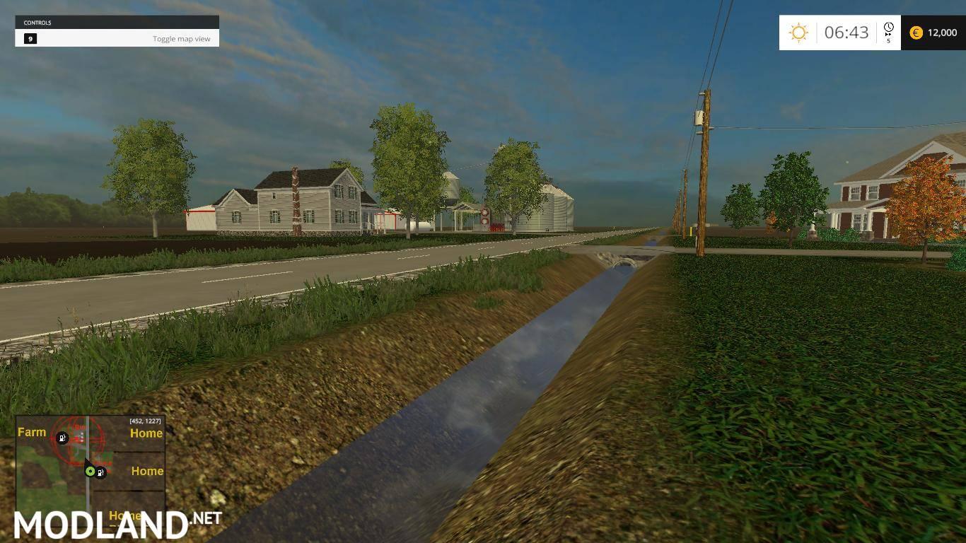 Northest Ohio Map v 1 0 mod for Farming Simulator 2015 15