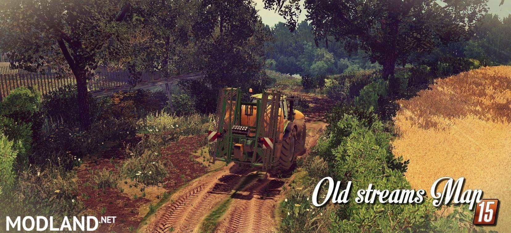 OLD STREAM MAP v 1 0 mod for Farming Simulator 2015 / 15 | FS, LS
