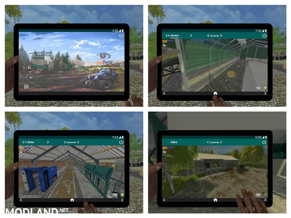 Mix Feeder Example Map V Mod For Farming Simulator - Farming simulator 2015 us map feed cows