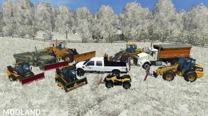Winter Snow Map Mod FS 15