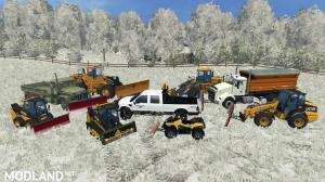FS15 Winter Snow Map Mod