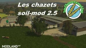 Les Chazets Map SoilMod v 2.5, 1 photo