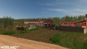 """Finnish map ~ """"Small farm"""" ~ V2, 3 photo"""