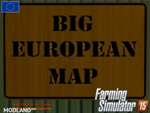 Big European Map v 2.0, 1 photo
