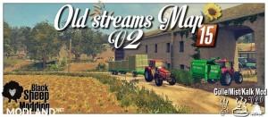 Old Streams Map  v 2.0.1 fix gmk, 1 photo