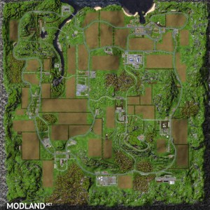 Oldschool Farm Map v 1.0 without mods , 2 photo