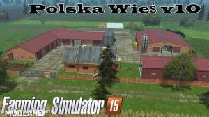 Polska Wies Map