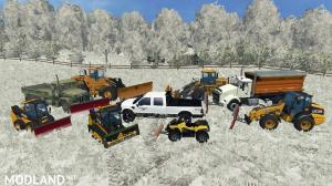 Woodmeadow Snow Map v 1.1, 1 photo