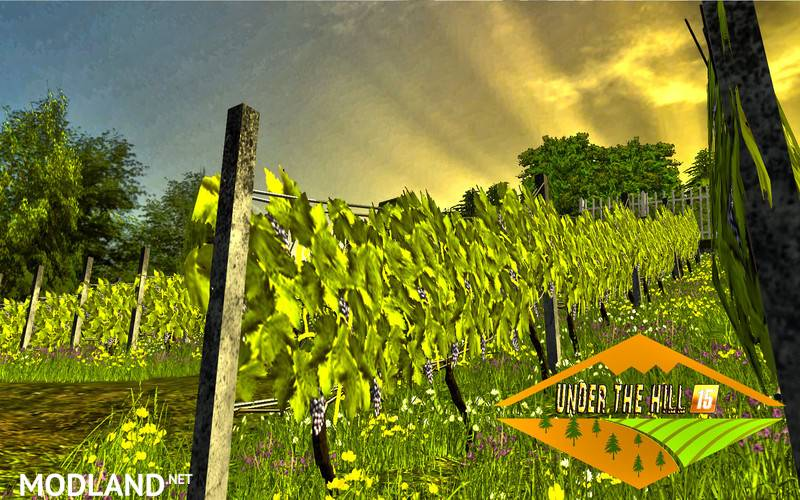 Under The hill Map v 3 0 mod for Farming Simulator 2015 / 15   FS