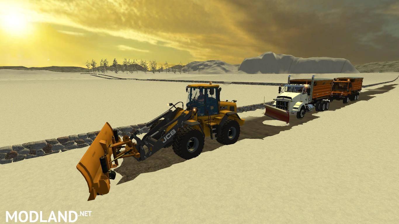 Скачать мод снег для farming simulator 2018