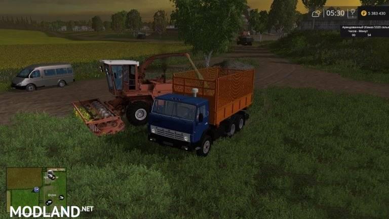 Kamaz 5320 Farmer + Trailer