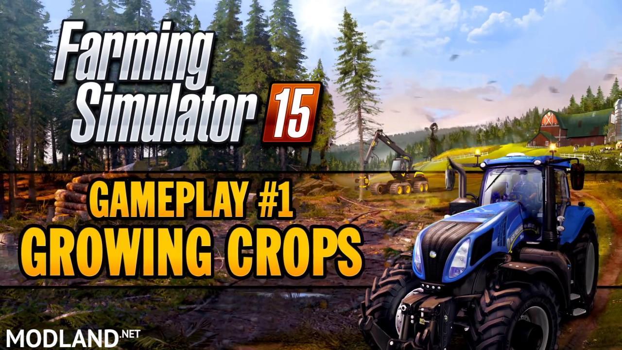 Farming Simulator 2015 - Gameplay Teaser 1