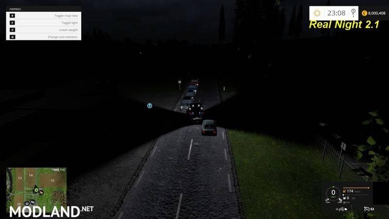 Real Night Mod