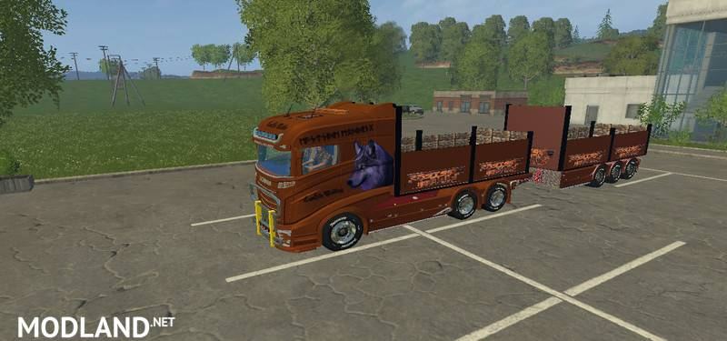 Scania Flatbed Pack
