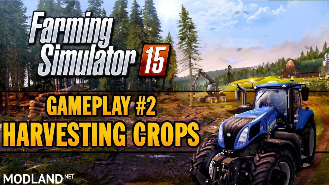 Farming Simulator 2015 - Gameplay Teaser 2